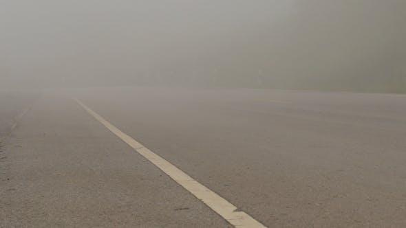 Thumbnail for Fog On Road