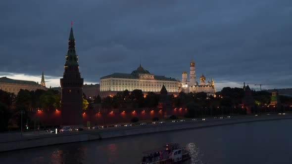 Thumbnail for Moscow River near the Kremlin Walls