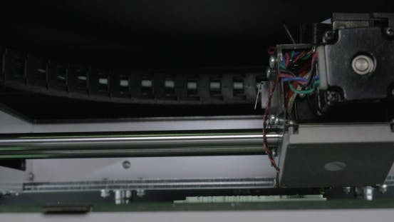 Thumbnail for Internal Print Mechanism Of 3D Printer