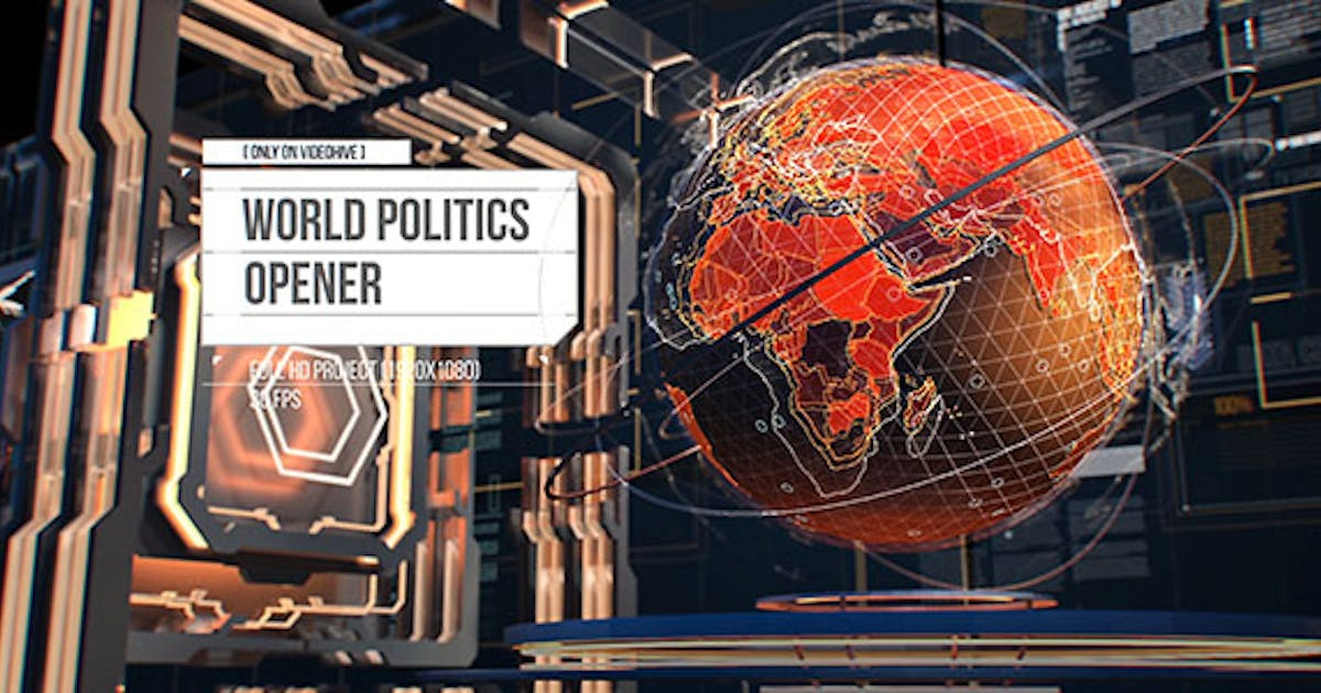 World Politics News Openers/ Business and Technology Intro/ Political and Digital World Ears Openers