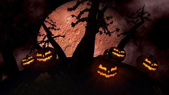 Halloween Hintergrund Schleife