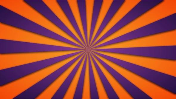 Thumbnail for Footage Animierter Hintergrund rotierender Balken