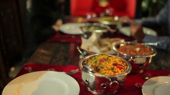 Thumbnail for Delicious Food In The Indian Restaurant