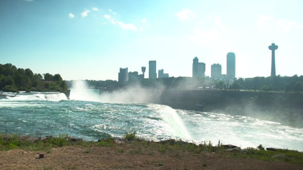 Thumbnail for View of Niagara Falls Near New York