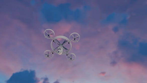 Thumbnail for Quadrocopter - Sunset