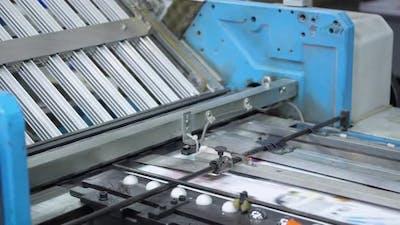 Printing Press Printed Magazine