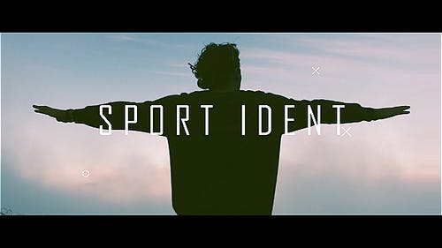 Sport Ident Glitch Slideshow