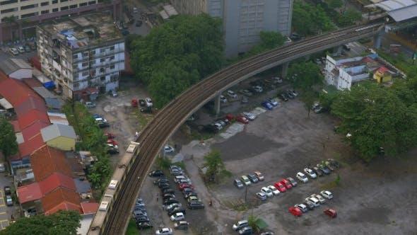 Thumbnail for Overground Railway In Kuala Lumpur, Malaysia