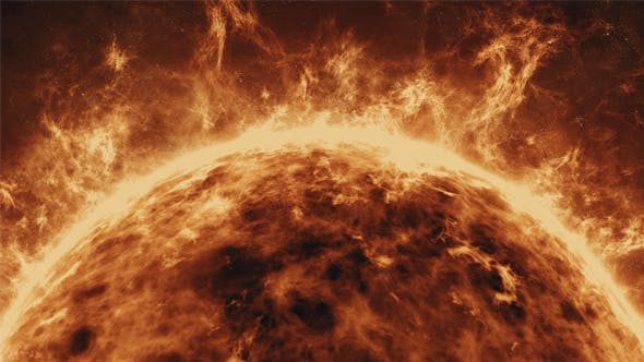Thumbnail for Fiery Surface of the Sun