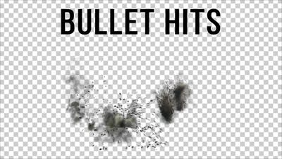 Bullet Hits on the Ground