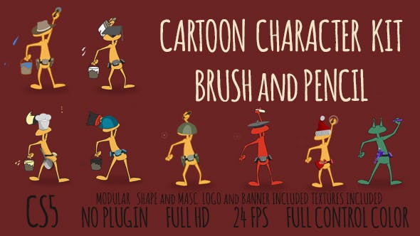 Thumbnail for Cartoon Character Kit Opener