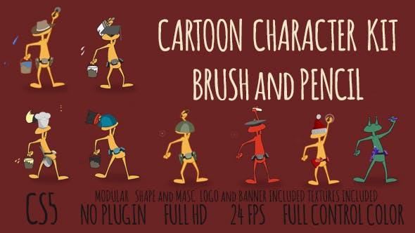 Cartoon Character Kit Opener
