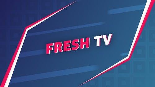Frischer Fernseher