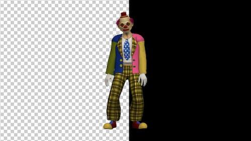 Scary Clown Swinging