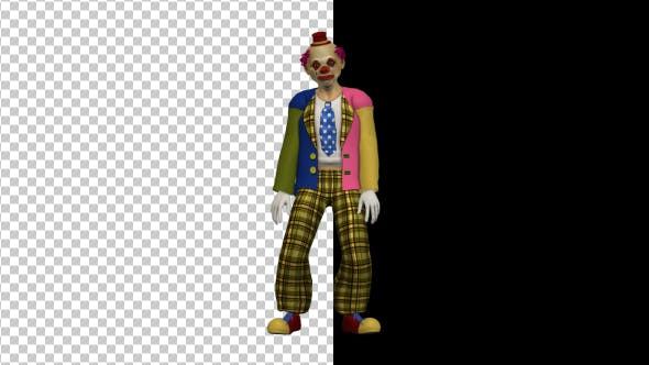 Thumbnail for Scary Clown Swinging