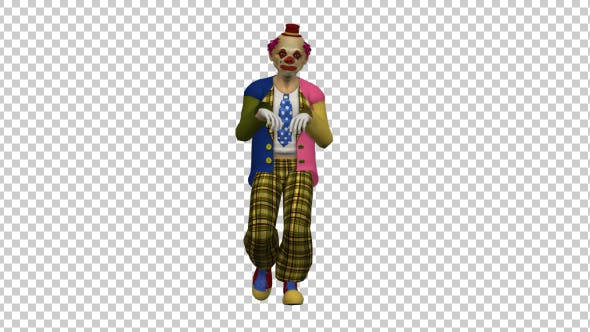 Walking Clown