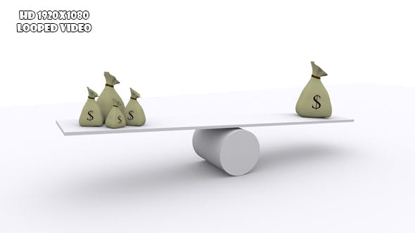 Teeter - Money Balance Concept