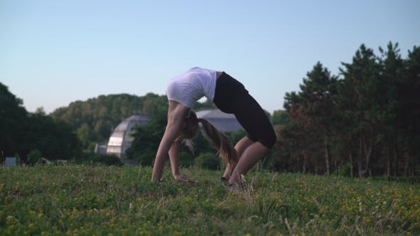 Thumbnail for Girl Enjoy Workout Outdoors
