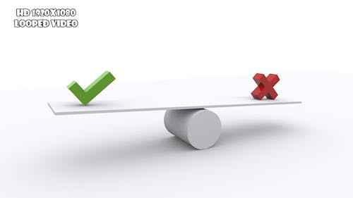 Teeter - Making Decision Concept
