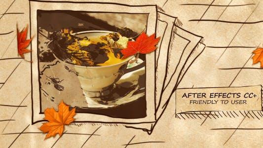 Thumbnail for Autumn Hand-Drawn Slideshow