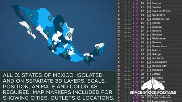 Mexico Map Kit