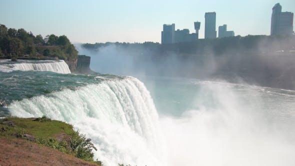 Thumbnail for Niagara Falls City View From Niagara Falls