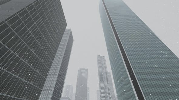 Thumbnail for Business City - Snowy Day