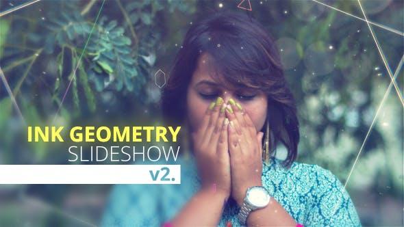 Thumbnail for Ink Geometry Slideshow V2.