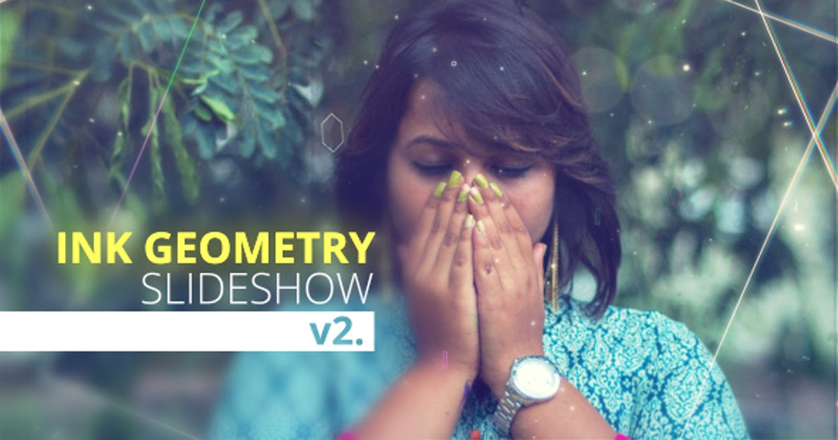 Download Ink Geometry Slideshow V2. by Nick_Chvalun