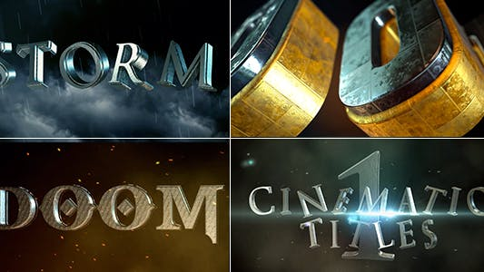Thumbnail for Cinematic Title 1