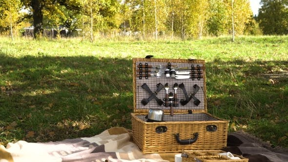 Thumbnail for Holzkorb für Picknick