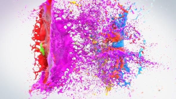 Thumbnail for Colorful Splash Logo