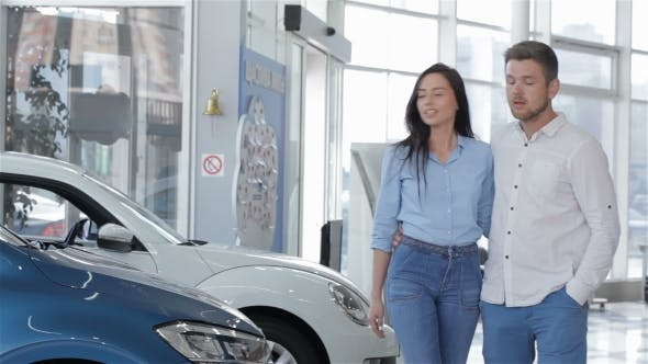Thumbnail for Young Couple Comes To The Car Dealership