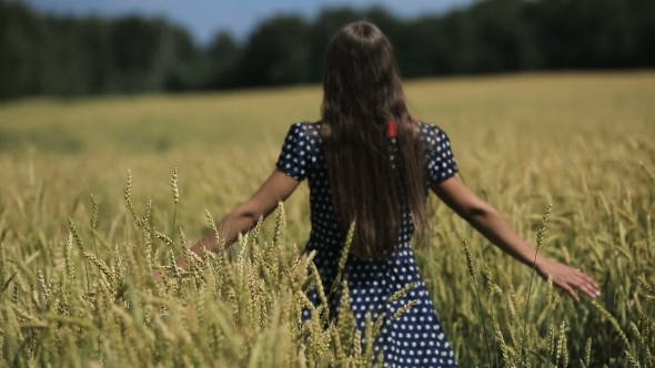 Thumbnail for Hand Of Girl In The Wheat Field.