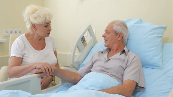 Thumbnail for Old Couple Talks at the Hospital