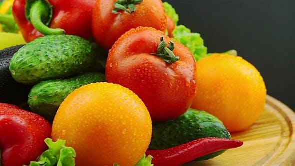 Thumbnail for Fresh Vegetables Rotate