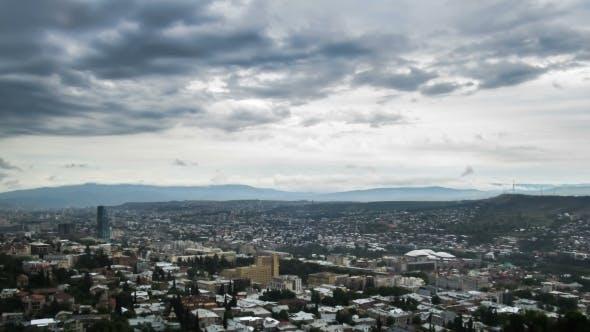Tbilisi, Georgia. Panoramic View.