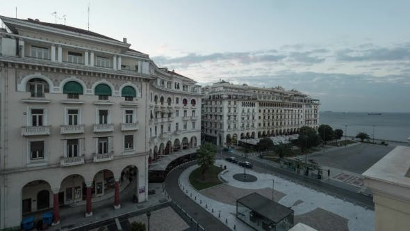 Thumbnail for City Life In Thessaloniki, Greece