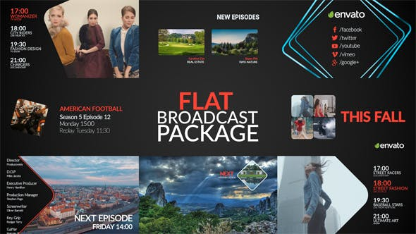 Thumbnail for Flat Broadcast Package