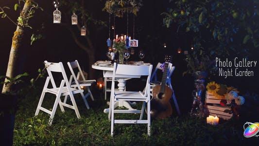 Thumbnail for Galería de fotos - Noche Garden