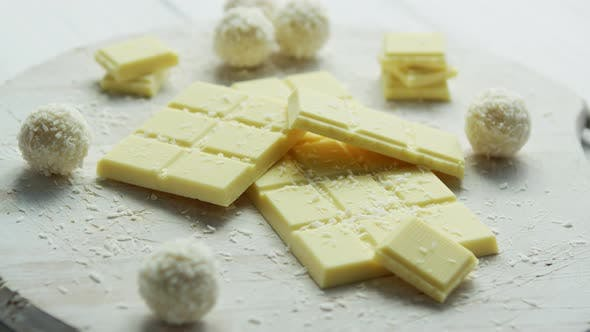 Thumbnail for Sweet White Chocolate with Coconut Sweets