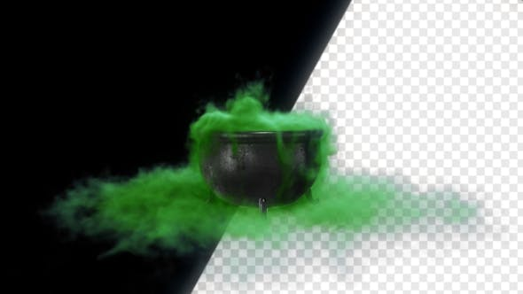 Thumbnail for Cauldron Witch With Green Liquid
