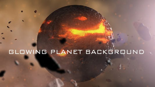 Thumbnail for Glowing Planet Background