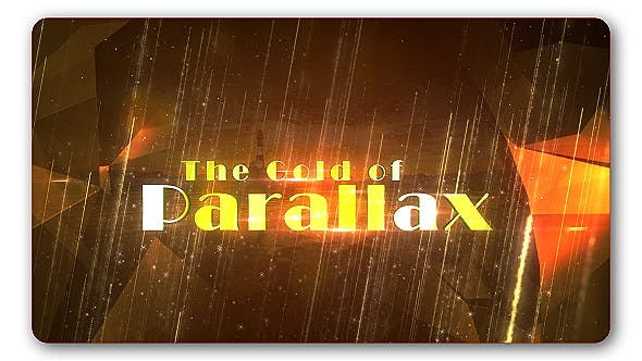 Cover Image for Gold Parallax Trailer Slideshow