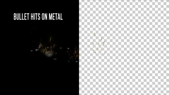 Thumbnail for Bullet Hits on Metal