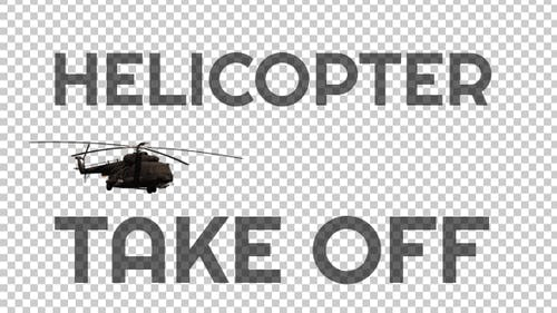 """Military Helicopter """"Take Off"""" - 2"""