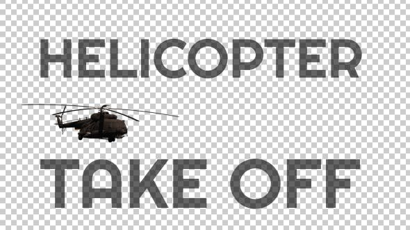 "Thumbnail for Military Helicopter ""Take Off"" - 2"