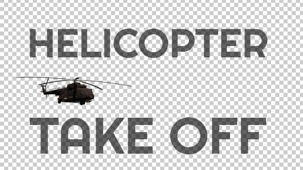 """Militärhubschrauber """"Take Off"""" - 2"""