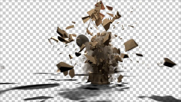 Thumbnail for Clocktower Destruction