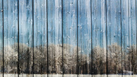 Thumbnail for Wooden Winter Background